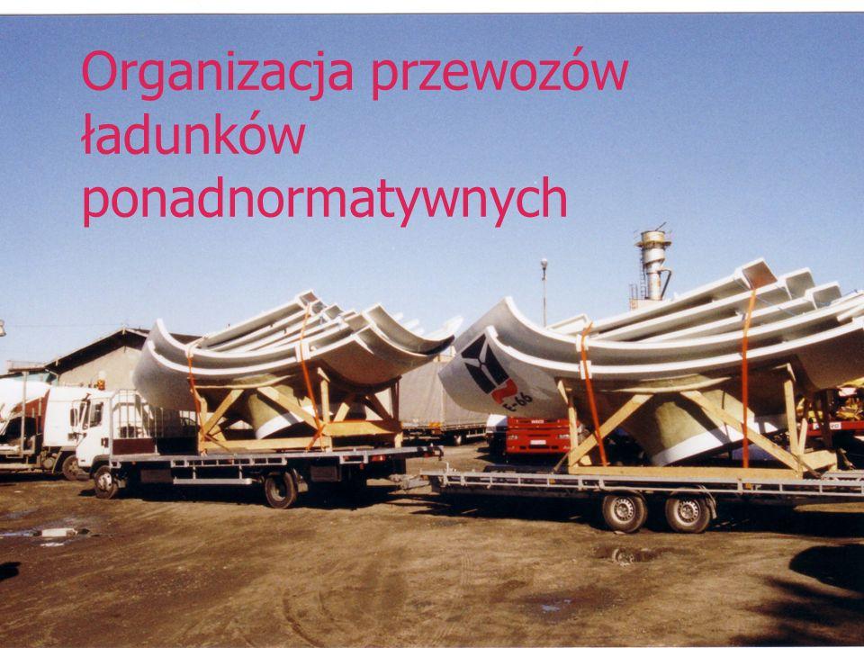 Organizacja przewozów ładunków ponadnormatywnych