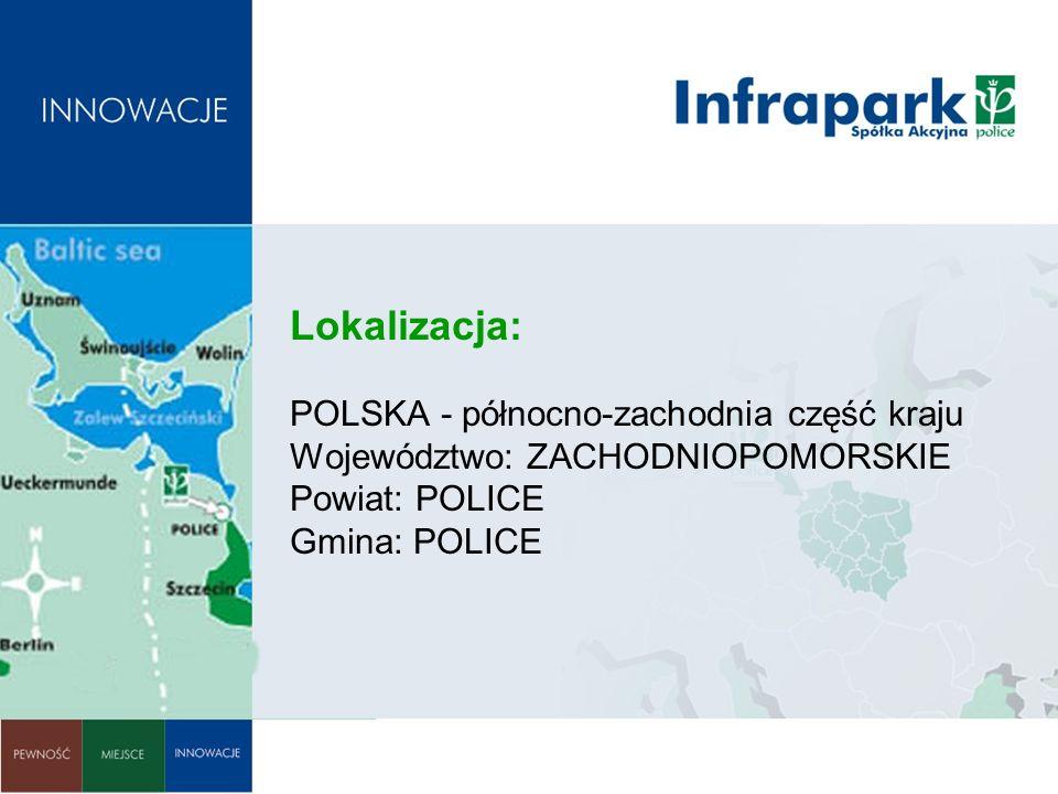 Lokalizacja: POLSKA - północno-zachodnia część kraju Województwo: ZACHODNIOPOMORSKIE Powiat: POLICE Gmina: POLICE
