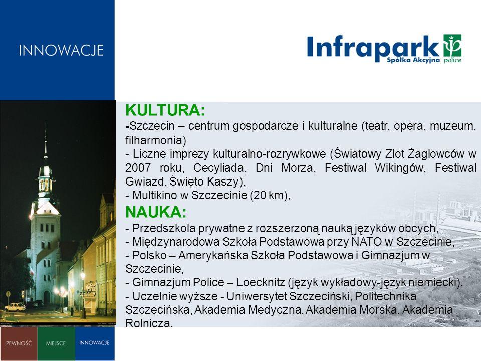 KULTURA: -Szczecin – centrum gospodarcze i kulturalne (teatr, opera, muzeum, filharmonia)