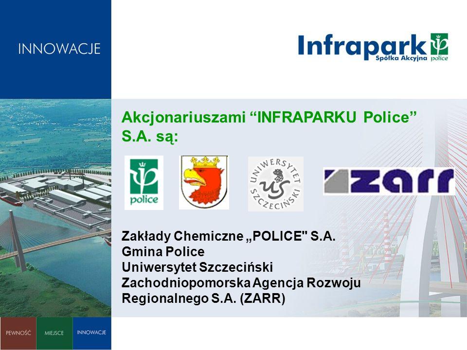 Akcjonariuszami INFRAPARKU Police S.A. są: