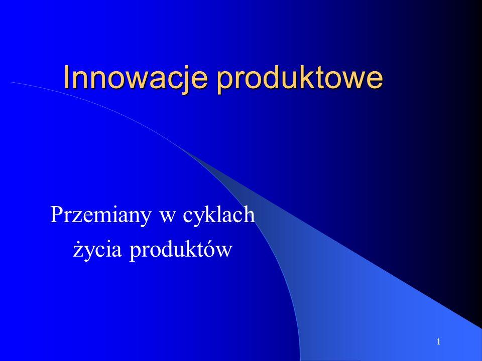 Przemiany w cyklach życia produktów