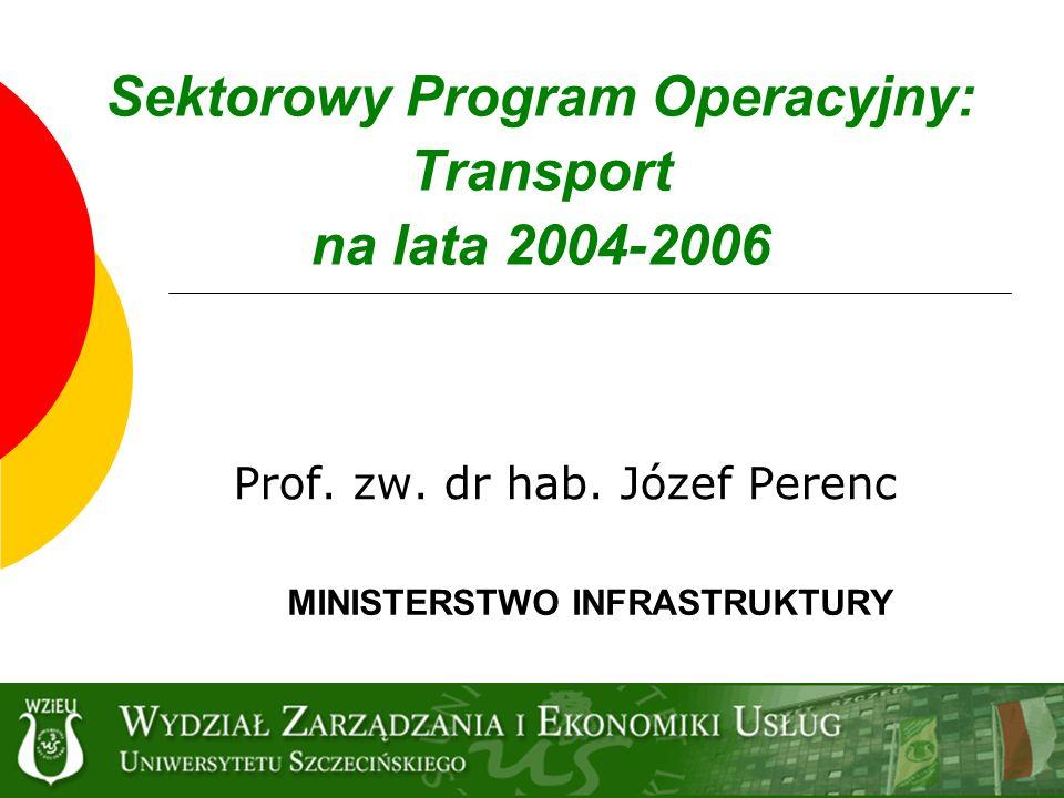 Sektorowy Program Operacyjny: Transport na lata 2004-2006