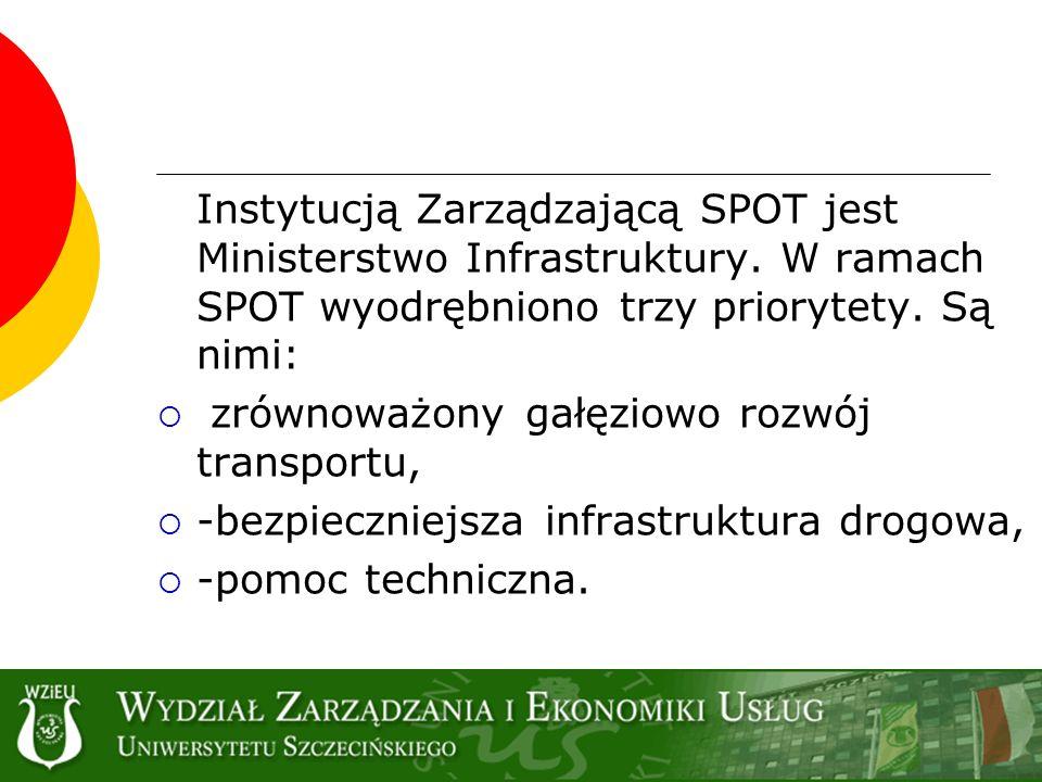 zrównoważony gałęziowo rozwój transportu,