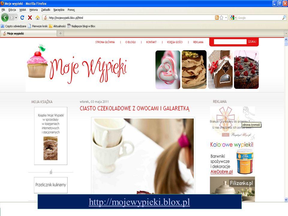 http://mojewypieki.blox.pl