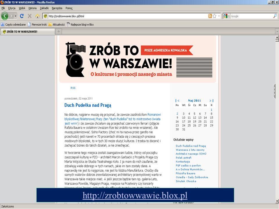 http://zrobtowwawie.blox.pl