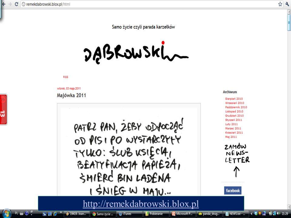 http://remekdabrowski.blox.pl