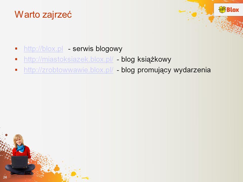 Warto zajrzeć http://blox.pl - serwis blogowy