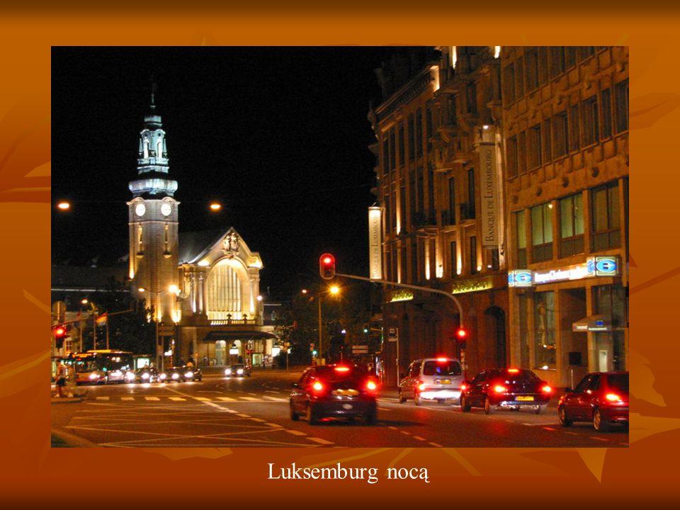 Luksemburg nocą
