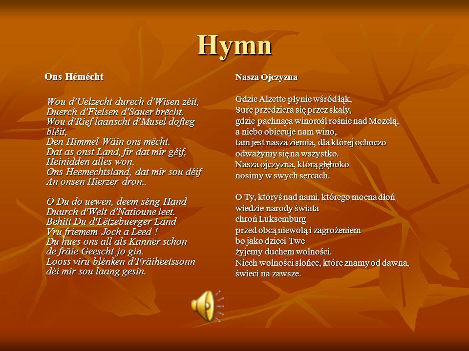 Hymn Ons Hémécht.