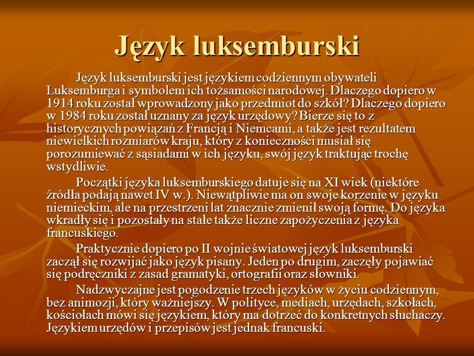 Język luksemburski