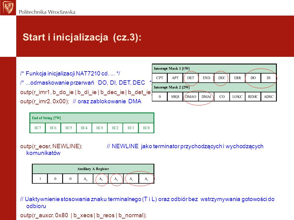 Start i inicjalizacja (cz.3):