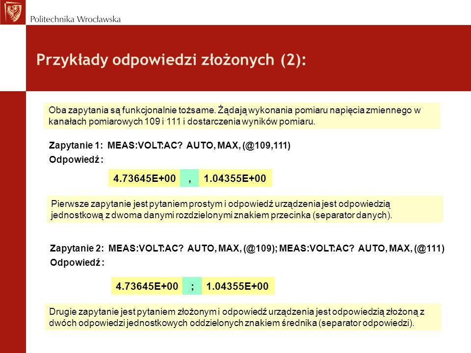 Przykłady odpowiedzi złożonych (2):