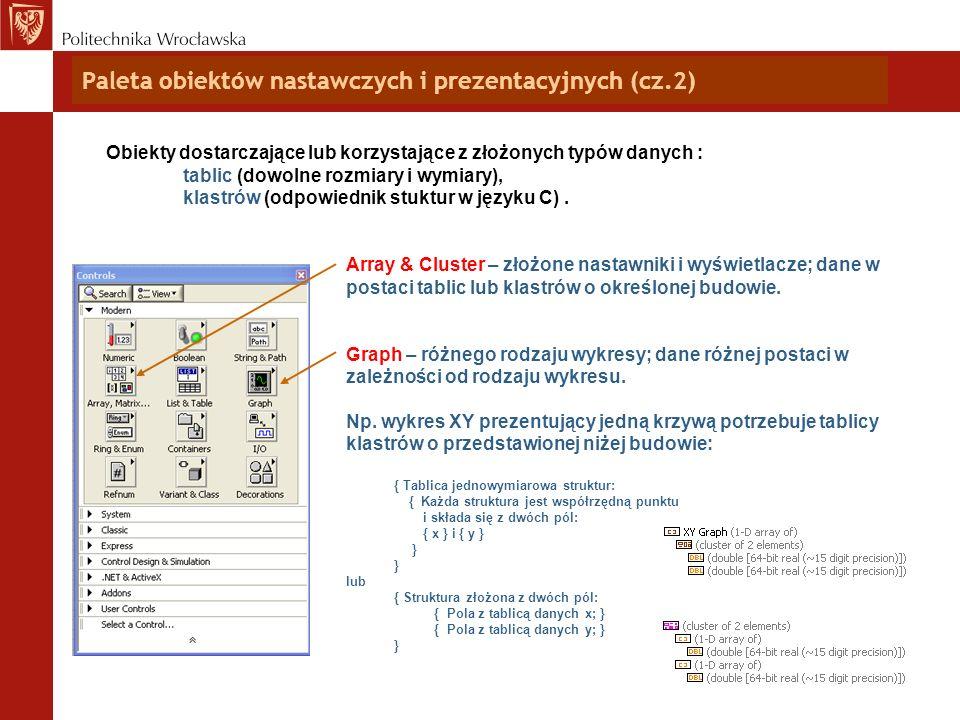 Paleta obiektów nastawczych i prezentacyjnych (cz.2)