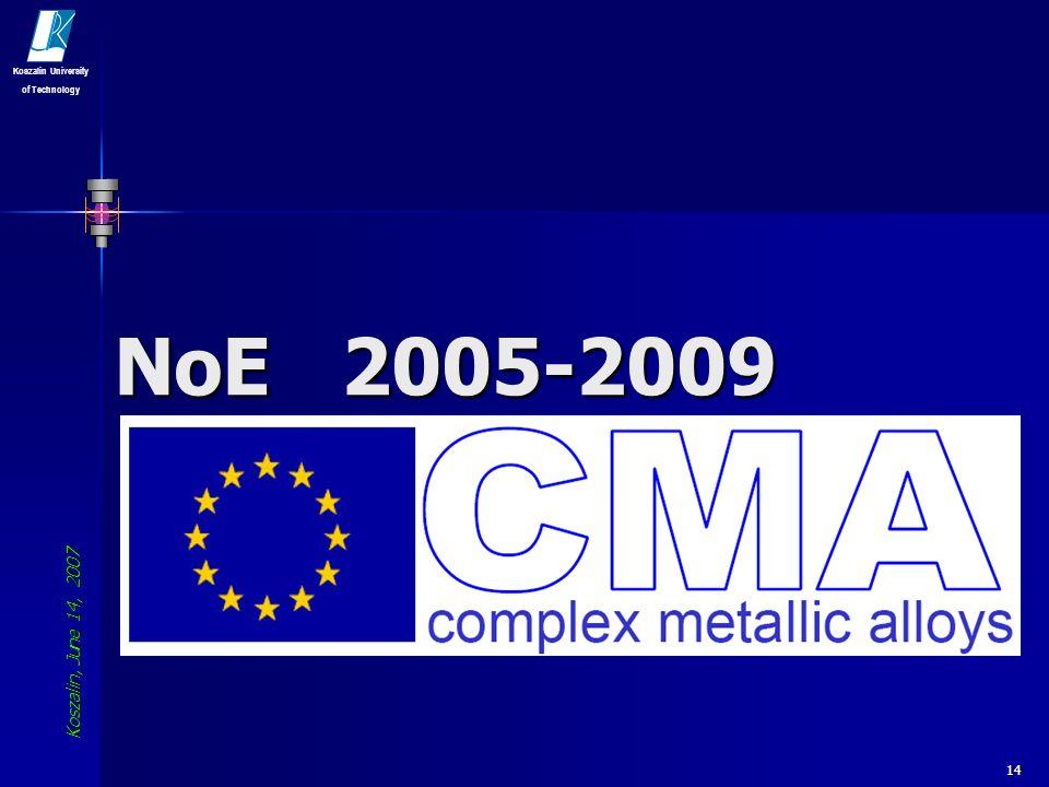 NoE 2005-2009