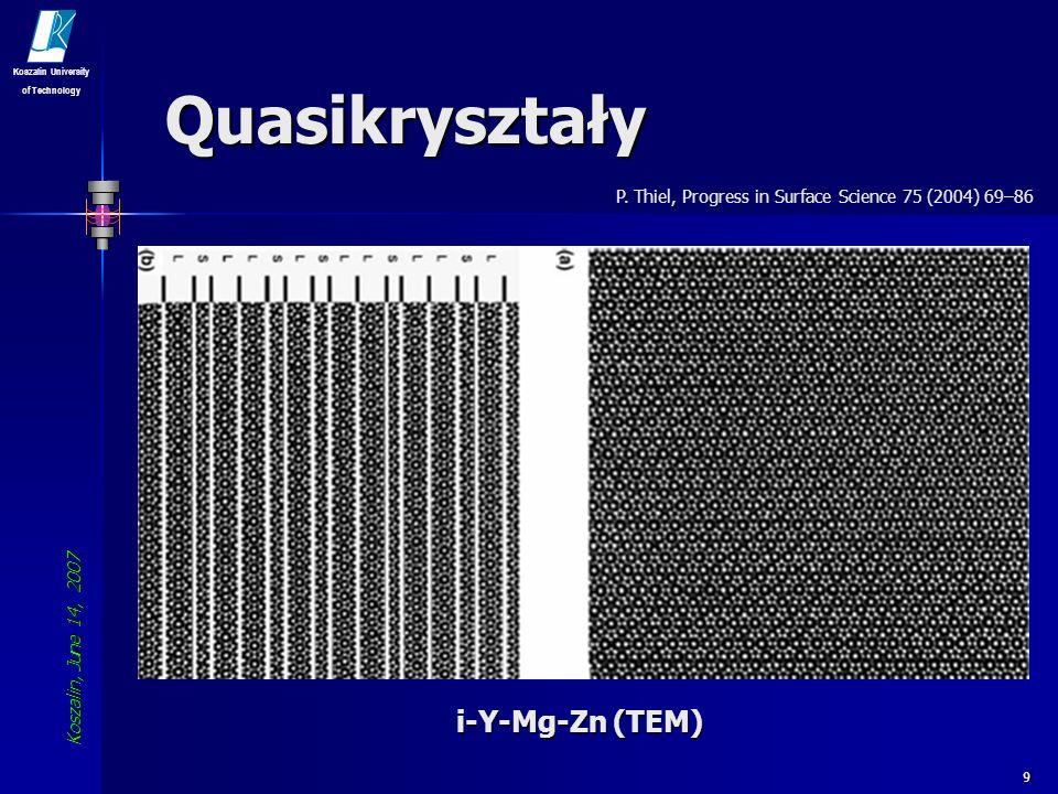 Quasikryształy i-Y-Mg-Zn (TEM)