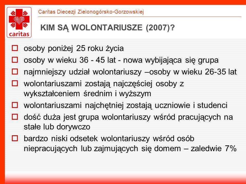KIM SĄ WOLONTARIUSZE (2007)