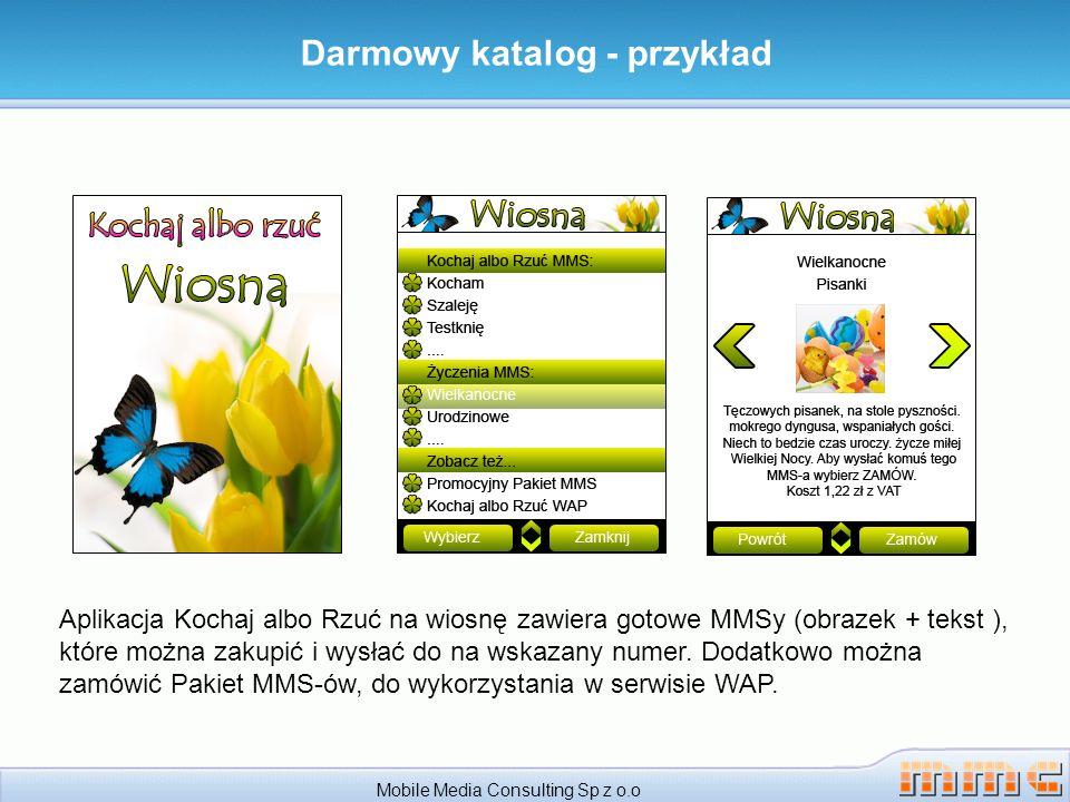 Darmowy katalog - przykład