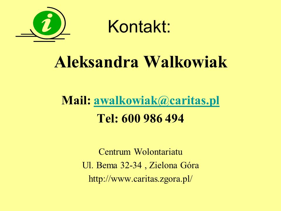 Mail: awalkowiak@caritas.pl