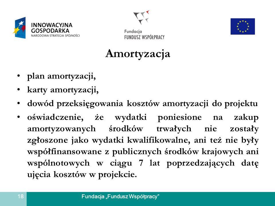 Amortyzacja plan amortyzacji, karty amortyzacji,