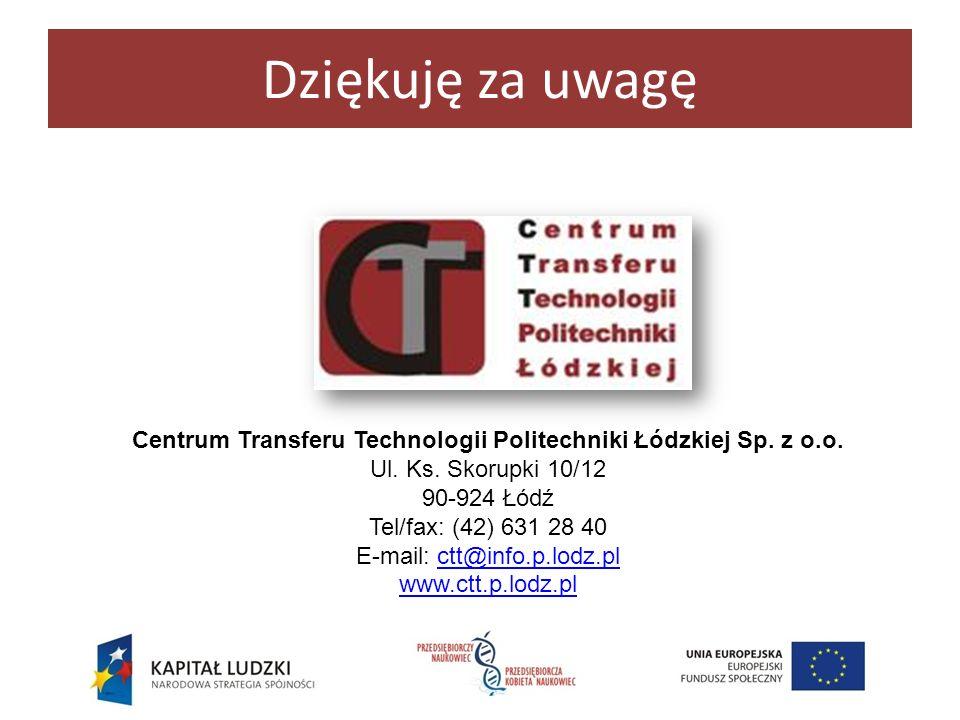 Centrum Transferu Technologii Politechniki Łódzkiej Sp. z o.o.