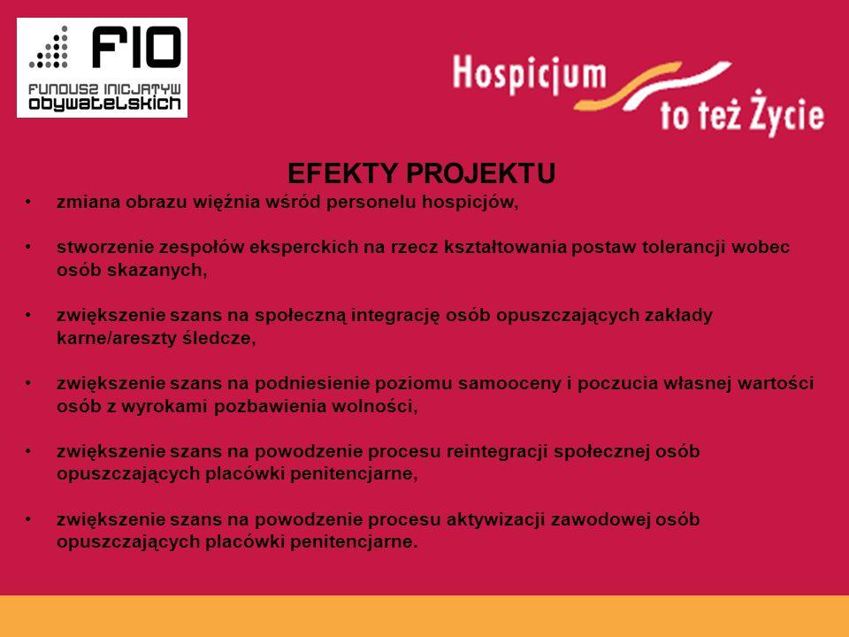 EFEKTY PROJEKTU www.hospicja.pl