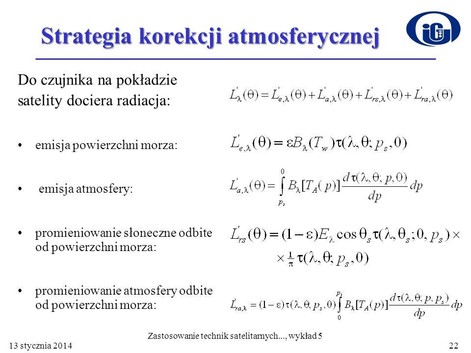 Strategia korekcji atmosferycznej