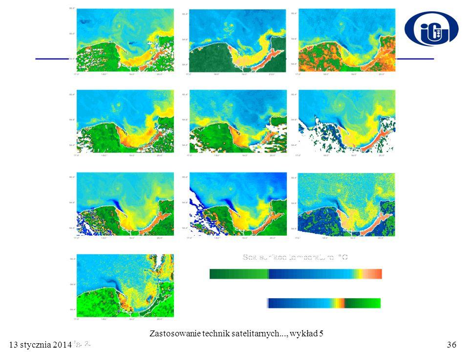 Zastosowanie technik satelitarnych..., wykład 5