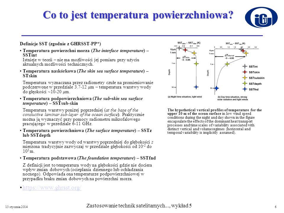 Co to jest temperatura powierzchniowa