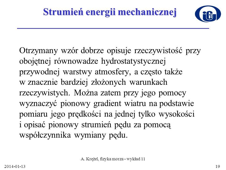 Strumień energii mechanicznej