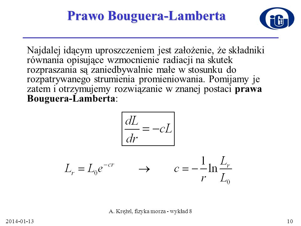 Prawo Bouguera-Lamberta