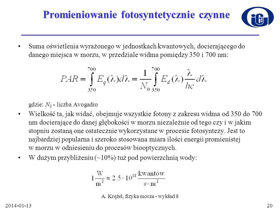 Promieniowanie fotosyntetycznie czynne