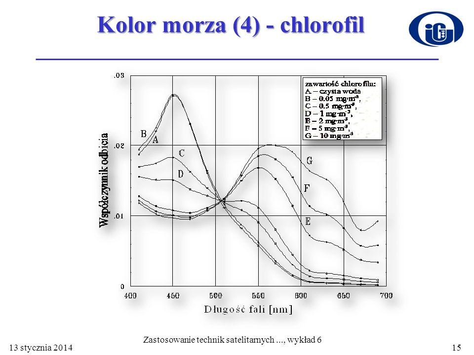 Kolor morza (4) - chlorofil