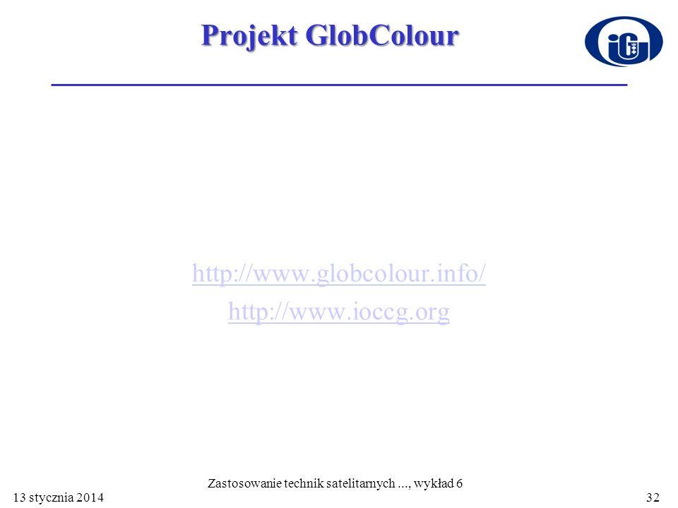 Projekt GlobColour http://www.globcolour.info/ http://www.ioccg.org