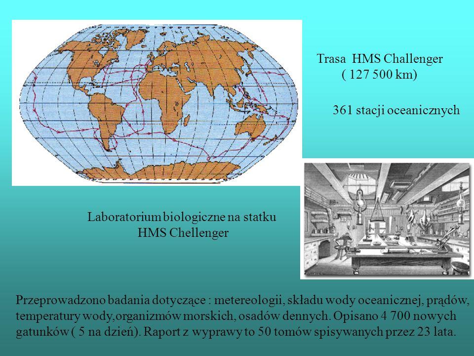Laboratorium biologiczne na statku
