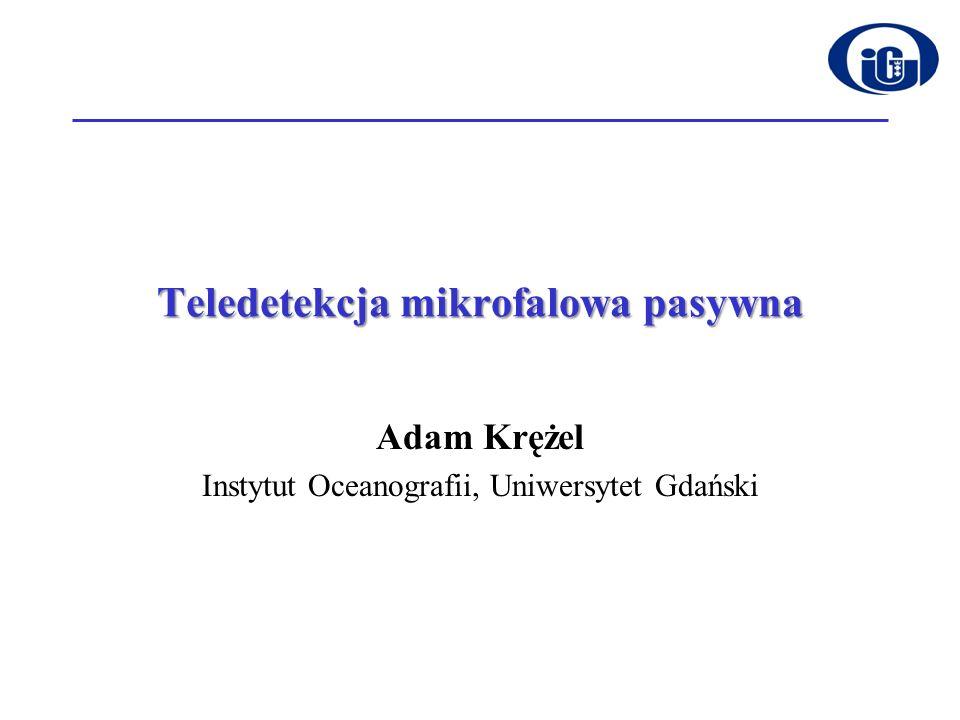 Teledetekcja mikrofalowa pasywna