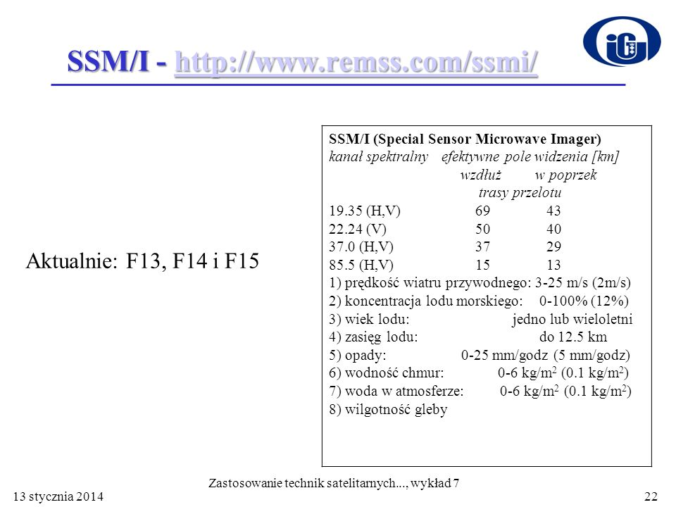 SSM/I - http://www.remss.com/ssmi/
