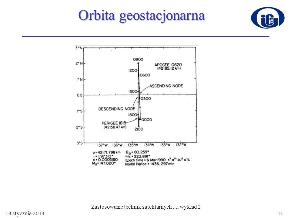 Orbita geostacjonarna