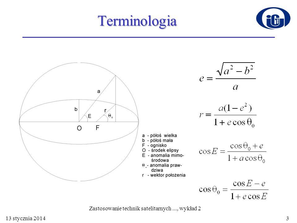 Zastosowanie technik satelitarnych ..., wykład 2