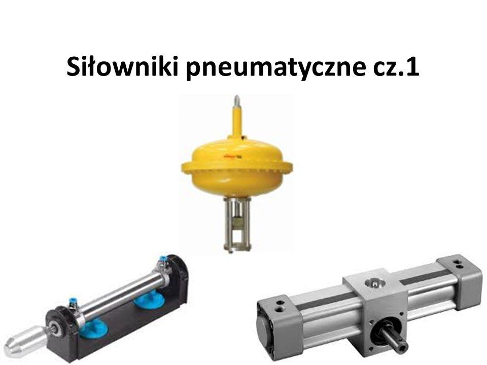 Siłowniki pneumatyczne cz.1