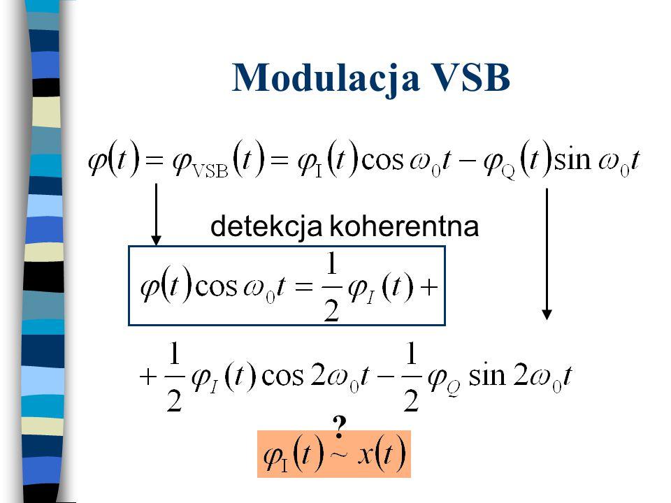 Modulacja VSB detekcja koherentna