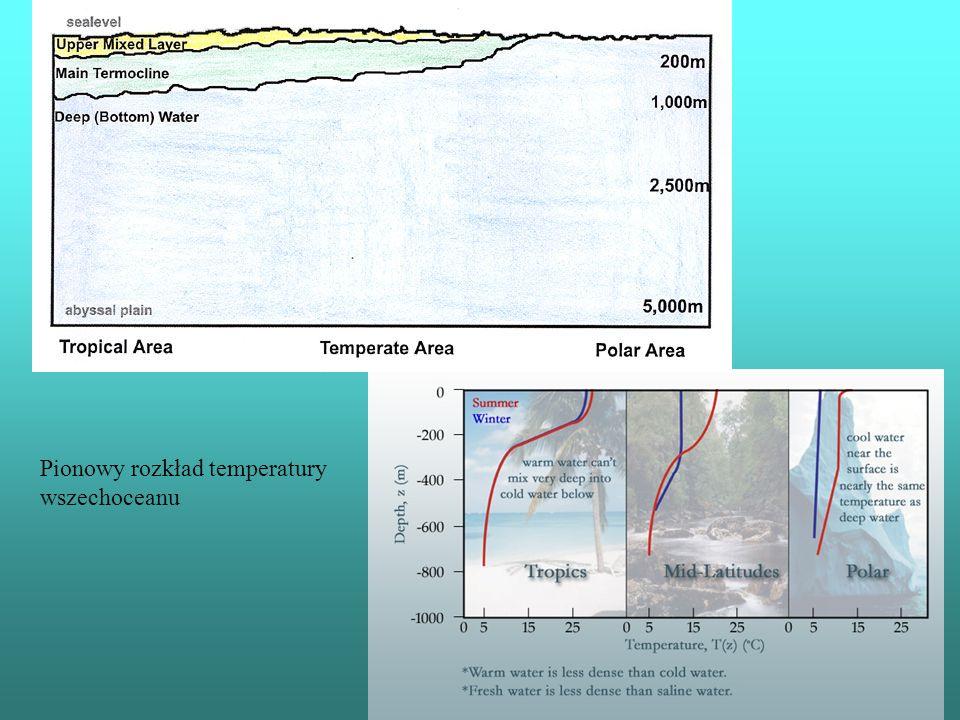 Pionowy rozkład temperatury