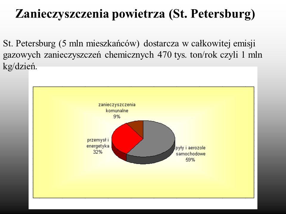 Zanieczyszczenia powietrza (St. Petersburg)