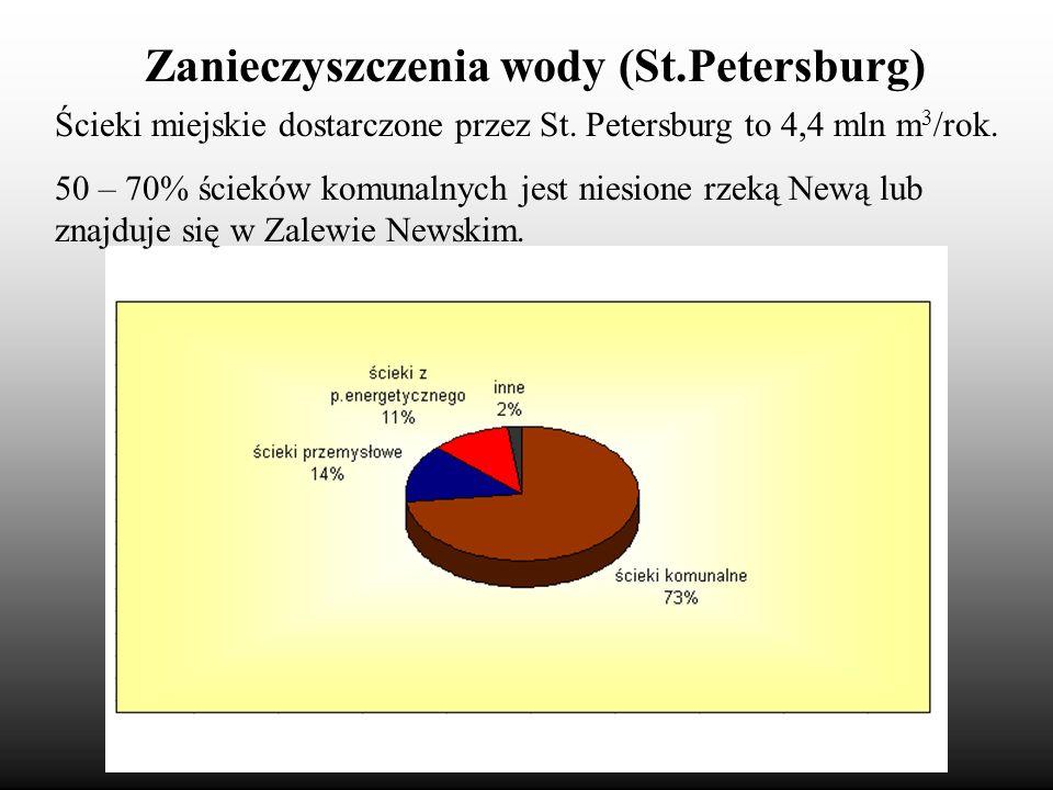 Zanieczyszczenia wody (St.Petersburg)