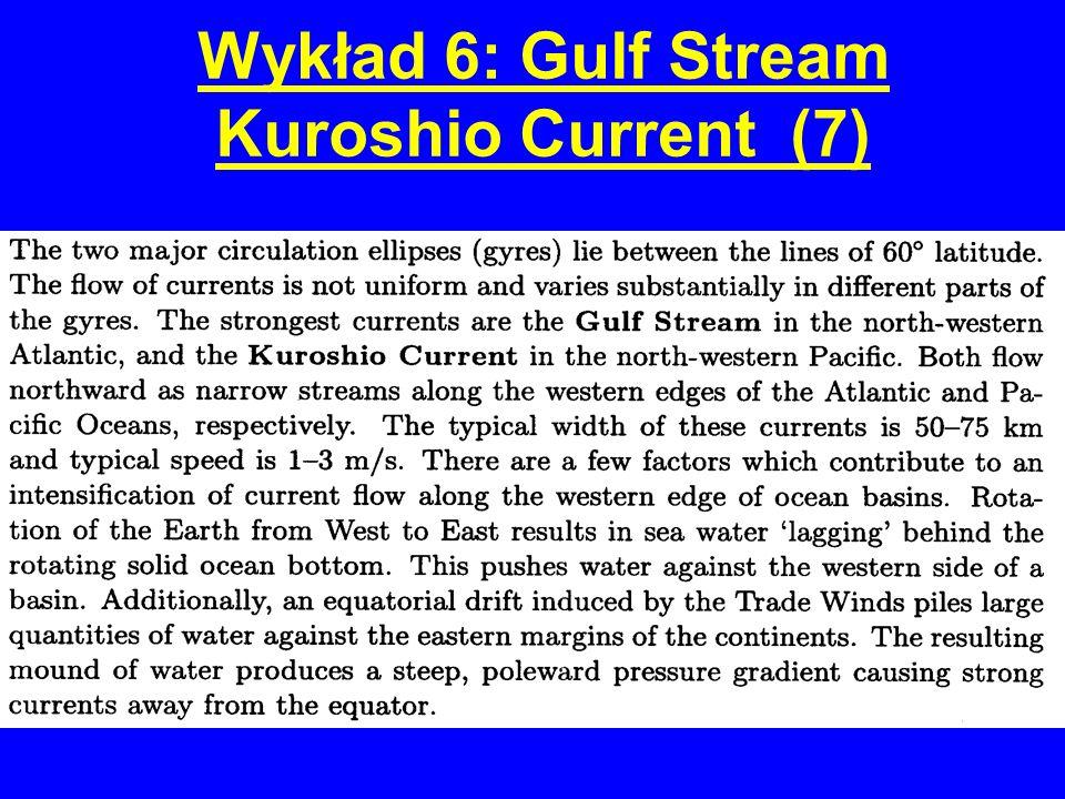 Wykład 6: Gulf Stream Kuroshio Current (7)