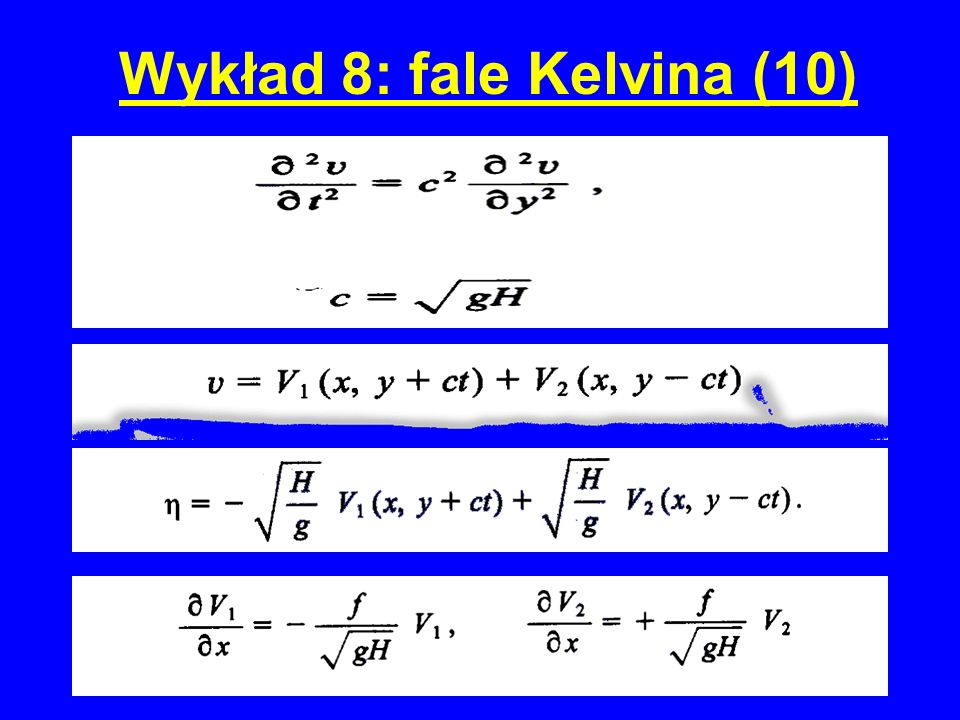 Wykład 8: fale Kelvina (10)