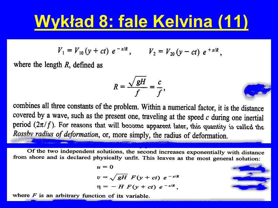Wykład 8: fale Kelvina (11)