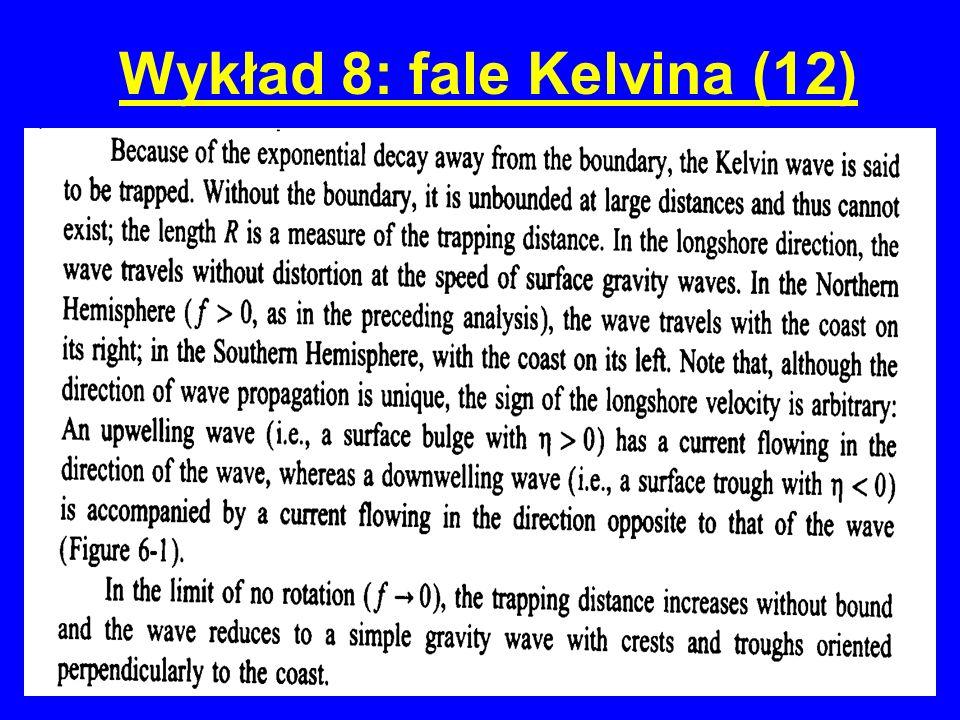 Wykład 8: fale Kelvina (12)