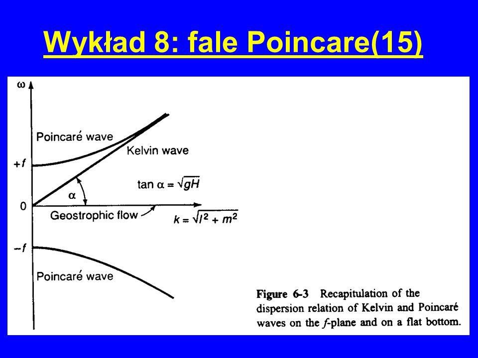 Wykład 8: fale Poincare(15)