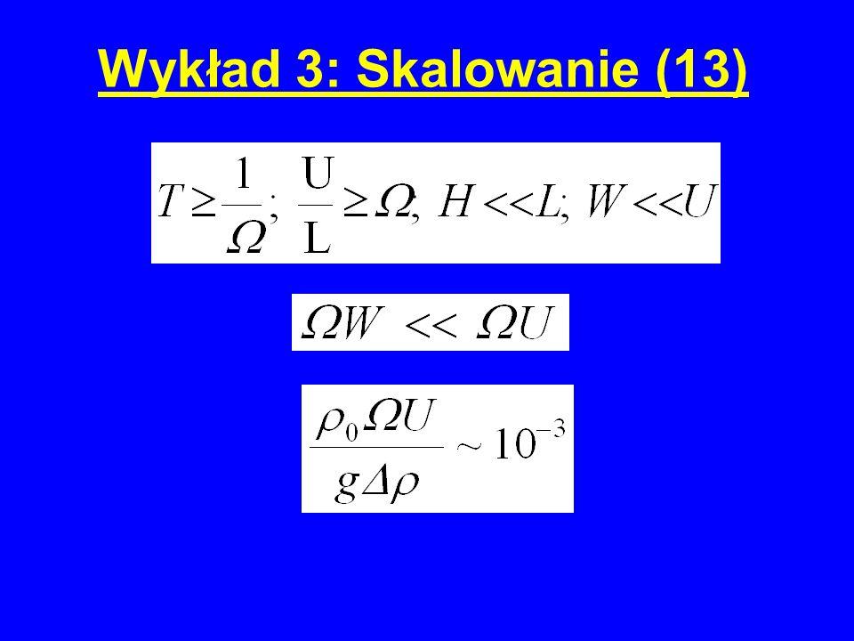 Wykład 3: Skalowanie (13)
