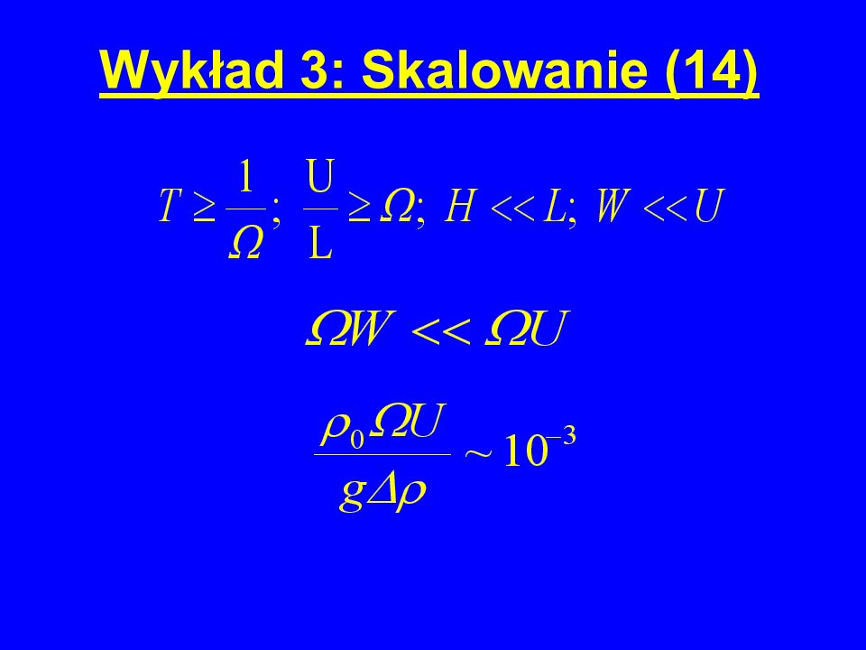 Wykład 3: Skalowanie (14)